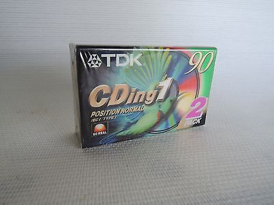 2X Lot CASSETTE TAPE BLANK VINTAGE TDK  90 MN [1995] Super HFC TYPE 1