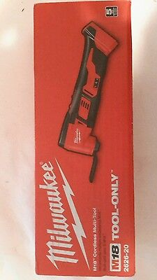 New Milwaukee M18 18-Volt Lithium-Ion Cordless Multi-Tool (Bare Tool) 2626-20