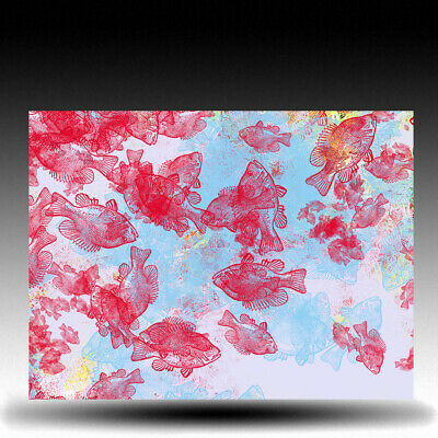artcore * fishflowers PRINT ART DESIGN  KUNST  COLLAGE  LEINWAND DRUCK  wendel