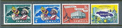 Jamaica 1962 Independence set of 4 mm