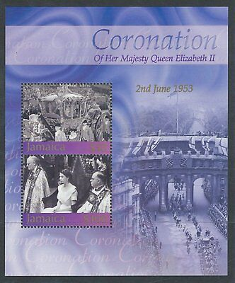 Jamaica 2003 50th Anniv of Coronation MS