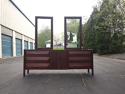 Mid Century Lane Furniture Rosewood Walnut Low Long Dresser Credenza RARE 1969