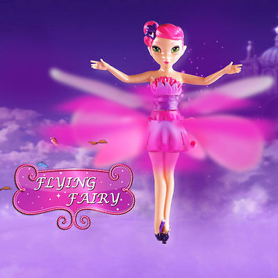 Flying Fairy Doll Hand Infrared Induction Control Dolls Child Fly Toy Gift - GN