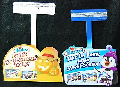 [ Hostess Store Signs - Halloween and Christmas - Twinkies, CupCakes, Donettes ]