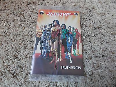 NEW Sealed 2017 General Mills Cheerios Justice League #3 Comic Book -Truth Hurts