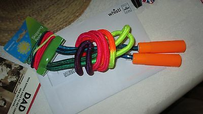 Bnwt Bright Skipping Rope