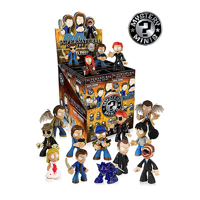 Funko Mystery Minis Supernatural Case of 12 Factory Sealed Action Figures