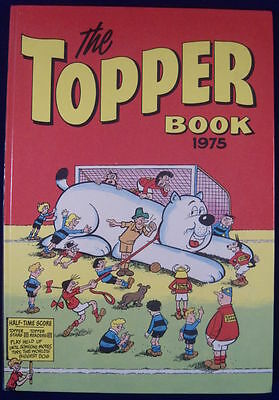 The Topper Book 1975.  Free P&P to UK