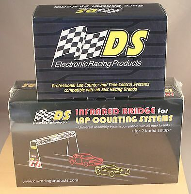 Lap counter Gantry Rally or 2 lane - DS 200 & set up to use with pclapcounter