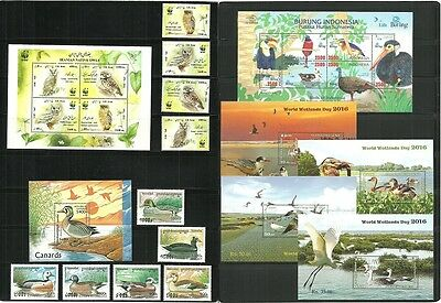 (T1-21-22)LOT,Sri Lanka, birds, MNH