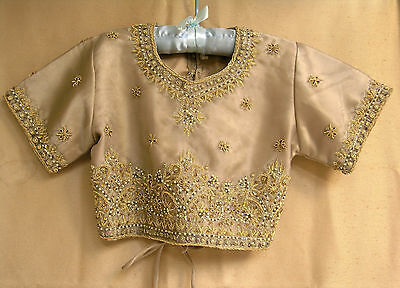 Child's Blouse/Top from India Beaded & Pearls Tagged Size 24, 10 or 12 US