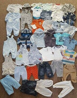 Baby boy clothes and shoes bundle 3-6 months