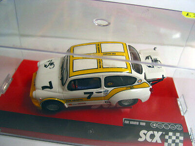 Scx - Scalextric Compatible A10121X300 Fiat 1000 Abarth Berlina Corsa Mint Boxed