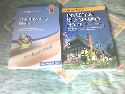2 Property Books - Buy To Let Bible & Investing In A Second Home