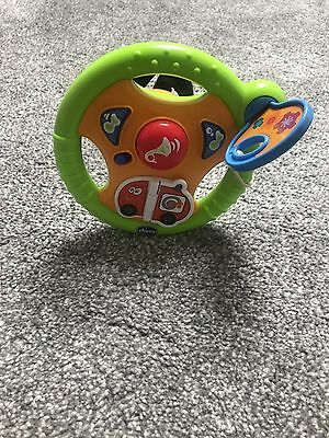 Chicco Light And Sounds Steering Wheel!