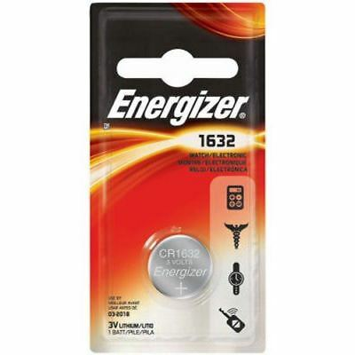 Energizer CR1632 Lithium Coin Batteries 3V ECR1632 1pc (EACH)