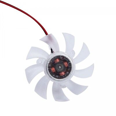2 Pin 55mm 5.5cm 3 Hole Type B VGA Cooler Video Graphics Card Cooling Fan 25mm