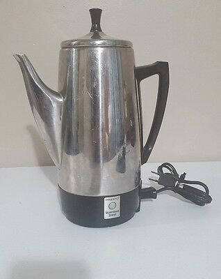Presto 12-cup Stainless Steel Coffee Maker 12 Cups Coffee Maker - Stainless