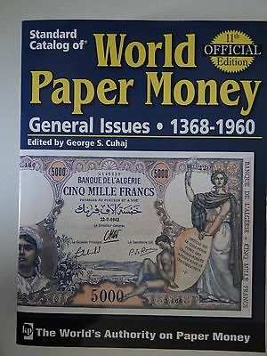 Standard Catalog of World Paper Money general issues 11th edition vol. 2