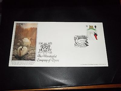 1993 Swans Bradbury First Day Cover - Dyers Hall London