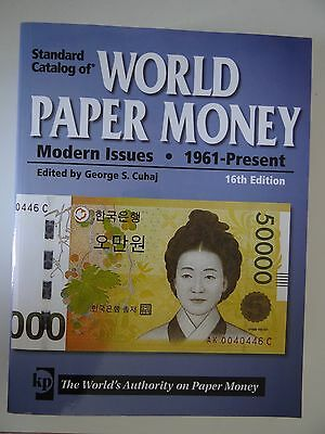 Standard Catalog of World Paper Money modern issues 16th Edition vol. 3