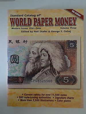 Standard Catalog of World Paper Money modern issues 9th Edition vol.3