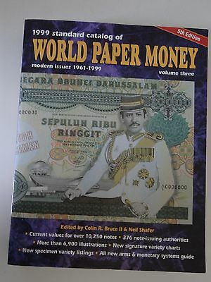 Standard Catalog of World Paper Money modern issues 5th Edition vol.3