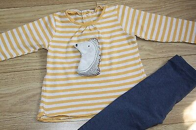 Next Baby Girl / Boy 2 piece outfits Top & Leggings 12-18 months