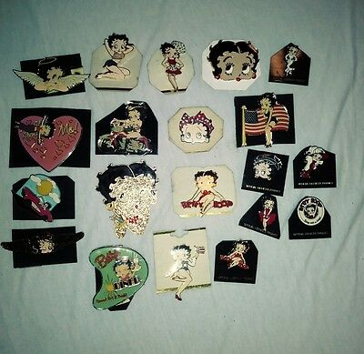 Lot of Betty Boop Pins 20