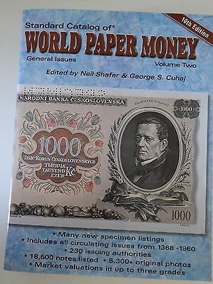 Standard Catalog of World Paper Money general issues 10th edition vol. 2