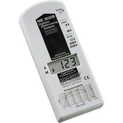 GIGAHERTZ SOLUTIONS ME 3030B Low frequency LF-Analyser, Electric smog meter, 16