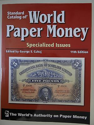 Standard Catalog of World Paper Money spezialized issues 11th edition vol. 1