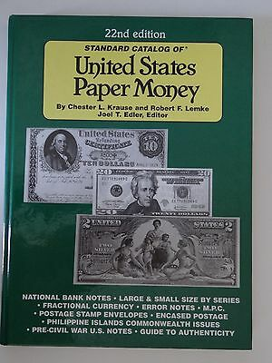 Standard Catalog of United States Paper Money 22nd Edition National Bank Notes