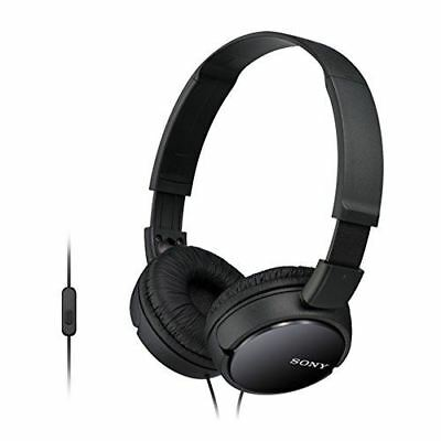 Sony MDR-ZX110AP Stereo Headphone (with In-line microphone) - Black