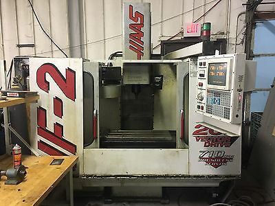haas vf2 CNC mill Excellent Condition