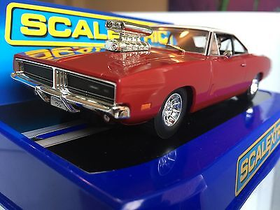 Scalextric Dodge Charger R/T Hot Rod  ( ) C3317  Car & Boxed &  Mint