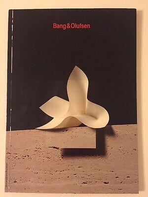 bang olufsen 1990 1991 catalogue brochure rare b o. Black Bedroom Furniture Sets. Home Design Ideas