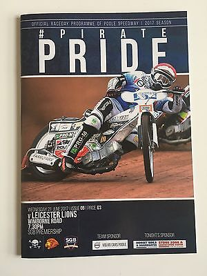 2017 Poole Pirates V Leicester Lions