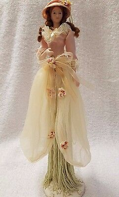 Popular Creations Tassel Doll HANNAH With Stand Item #0028TD