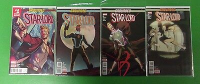 Grounded Star-Lord #1 2 3 4 Comics Run Lot Guardians of the Galaxy Marvel