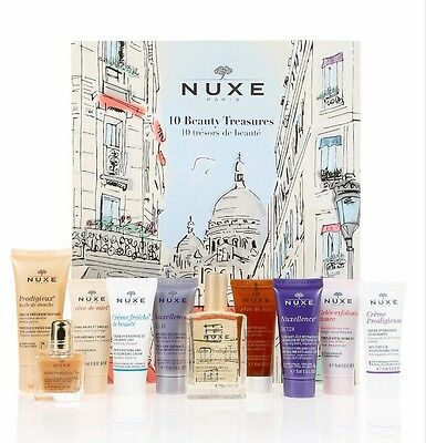 NUXE Paris 10 Beauty Treasures Countdown Gift Set *FAST POST* Worth £66