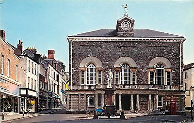 s08959 Town Hall, Carmarthen, Carmarthenshire, Wales postcard unposted