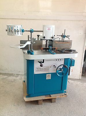Wadkin Ber 3 Spindle Moulder  REBUILT  Comes With Wadkin Bursgreen Power Feed