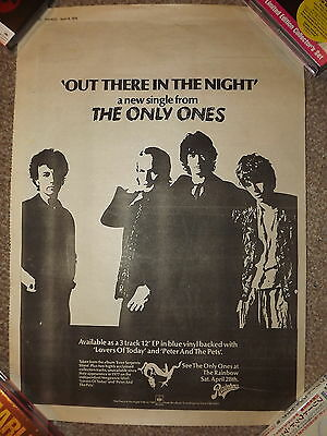 The Only Ones Out There In The Night Sounds Advert