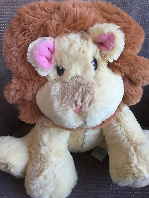 Russ Berrie Baby Soft Toy Lion Mane Comforter VGC