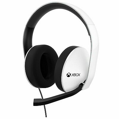 Official Microsoft Xbox One Stereo Wired Headset -Special Edition- White