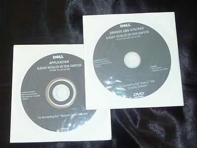 DELL Inspiron 1545 Drivers and Webcam Central software CD DVD Disc
