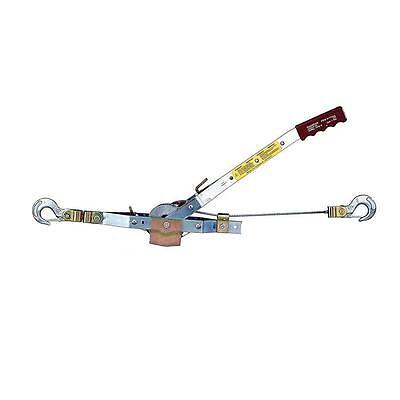 Massdam New Winch 2,000 Lb. 12 Ft. Puller Hand Come Along Automotive Cable