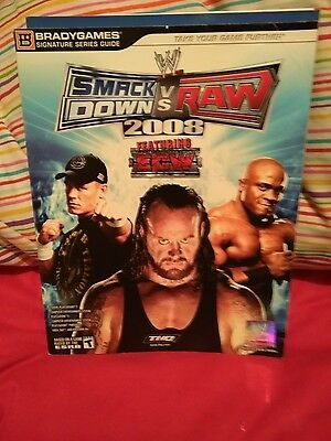 Wwe Smackdown V Raw 2008 Computer Game Book