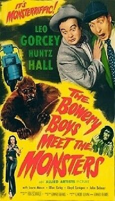 The Bowery Boys Meet The Monsters Magnet